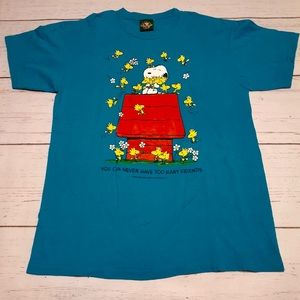 Vintage 1994 Snoopy & Woodstock T-Shirt Large